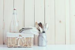 家庭厨房装饰 免版税库存照片