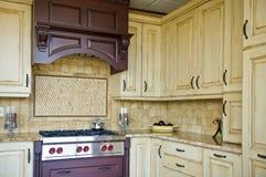 家庭厨房 图库摄影