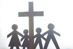 家庭和复活节发怒宽容生活方式概念 库存图片