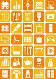 家庭图标 免版税图库摄影
