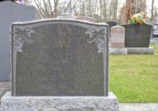 家庭墓碑或墓石 免版税库存照片