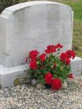 家庭墓碑 免版税库存照片