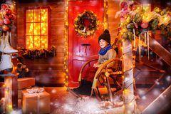 家庭寒假 免版税图库摄影