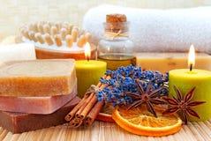 家庭寿命仍然做肥皂健康 免版税图库摄影