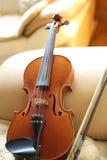 家庭小提琴 图库摄影