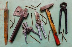 家庭工具 库存照片