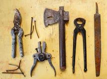 家庭工具 免版税图库摄影