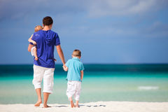 家庭度假 免版税库存照片