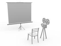 家庭影院 免版税库存图片