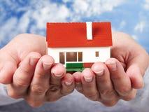 家庭房子。 免版税库存图片