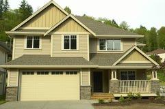 家庭房子新的住宅 免版税库存照片