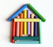 家庭房子甜点 免版税库存图片