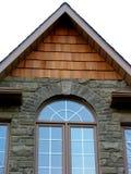 家庭房子视窗 免版税库存照片