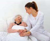 家庭护理 免版税库存照片
