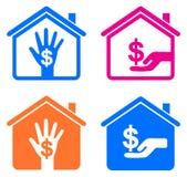 家庭收入 免版税库存照片