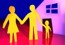 家庭新我们 免版税库存图片