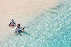 家庭暑假 免版税图库摄影