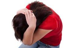 家庭暴力 图库摄影