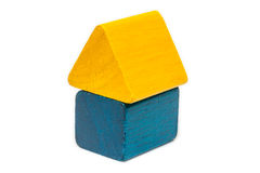 家庭木形状 免版税库存图片