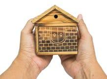 家庭木头 库存图片