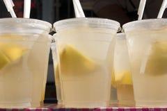 家庭柠檬水做 库存照片