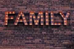 家庭标志 库存图片