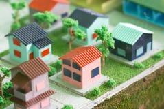 家庭模型。 图库摄影