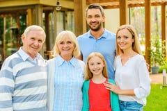 家庭汇聚 免版税库存照片