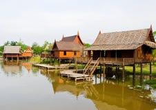 家庭泰国 免版税图库摄影