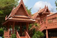 家庭泰国 库存照片