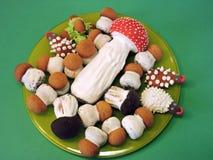 家庭焙制的甜点 免版税库存照片