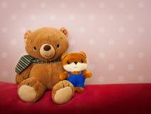 家庭熊 免版税库存图片