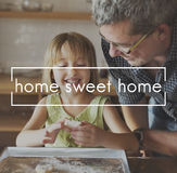 家庭甜家烘烤点心概念 免版税图库摄影