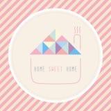 家庭甜点home1 免版税库存照片