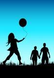 家庭生活 免版税库存照片