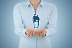 家庭生活保险和政策 免版税图库摄影