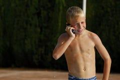 家庭电话 免版税图库摄影