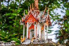 家庭神的寺庙 免版税库存图片