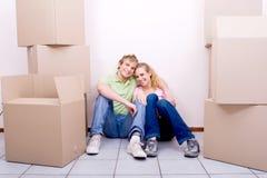 家庭移动 库存图片