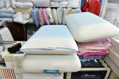 家庭纺织品商店 免版税库存照片