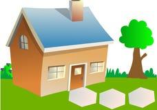 家庭结构树 免版税库存图片