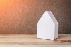 家庭美好的家庭房子模型 免版税库存图片