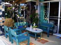 家庭菜园装饰想法 免版税库存图片