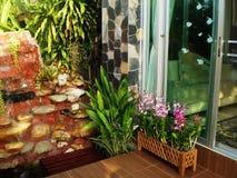 家庭菜园装饰想法 库存照片