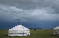 家庭蒙古语 免版税库存照片