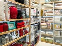 家庭装饰待售在家电装饰商店 免版税库存照片