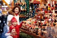 家庭购物圣诞节礼物 库存照片