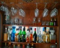 家庭酒吧 免版税库存图片