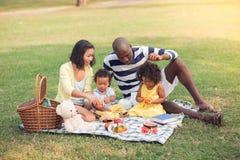家庭野餐 图库摄影
