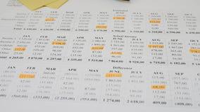 家庭预算和财政规划 影视素材